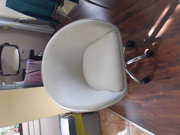 Fotel obrotowy  skóra ekologiczna