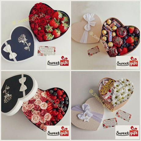 Подарок на 14 февраля, 23 февраля, съедобный букет, букет из конфет