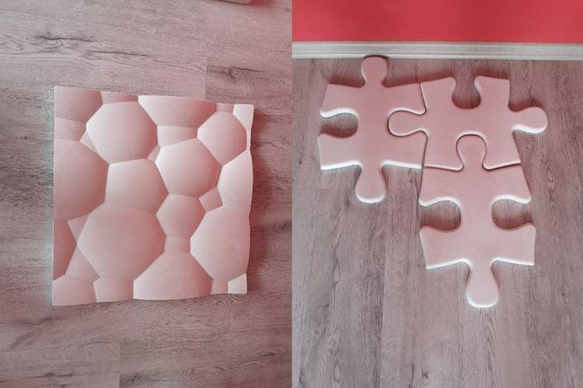 Panel Gipsowy 3D Puzzle Lego Zabawka Łóżeczko fotelik meble wózek