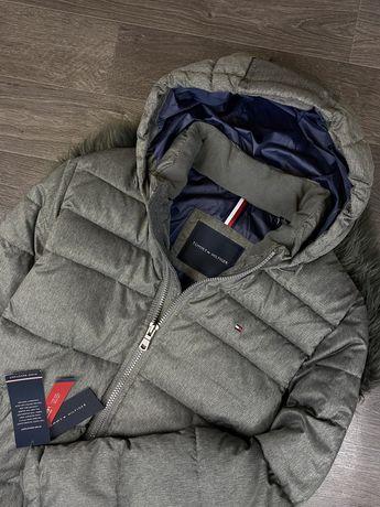 Новая зимняя куртка Tommy Hilfiger курточка Klein пуховик Ralph armani