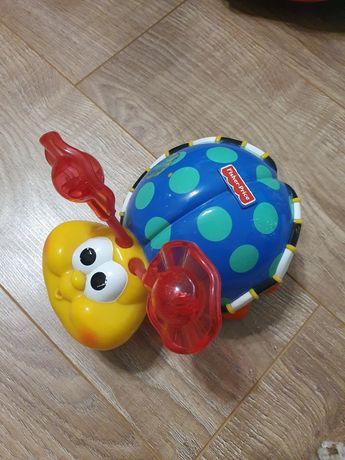 іграшки жук fisher price,  юла chicco  і шарик