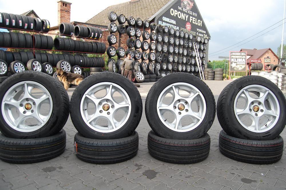 """Felgi aluminiowe 18"""" 5X130 9J ET45 ORYGINAL PORSCHE"""