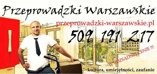 Przeprowadzki Warszawa Firma przeprowadzkowa Warszawa Tanio