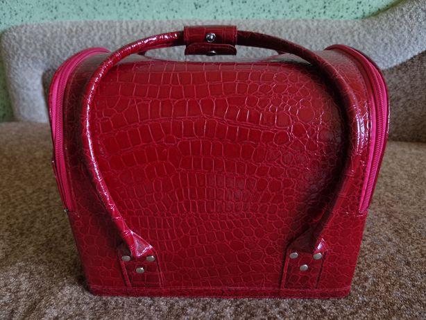 Чемодан кейс бьюти кейс сумка для косметики