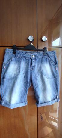 krótkie spodenki damskie jeansowe, r. 44 (16)