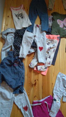 ubrania 98 paczka ubrań