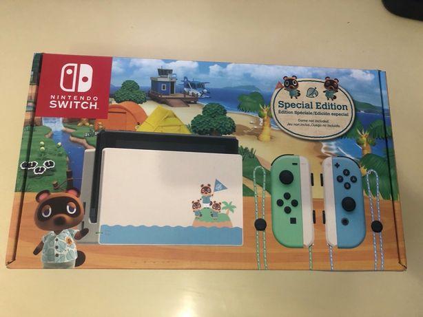 Nintendo Switch: Animal Crossing Special Edition (новая, запечатаная)