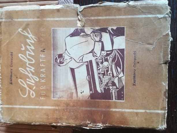 Podręcznik kierowcy niemiecki z 1943