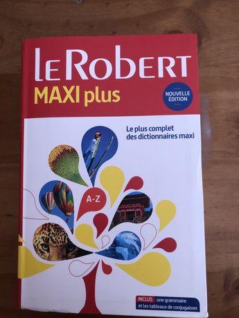 Dicionario Francês Le Robert Maxi Plus 2017