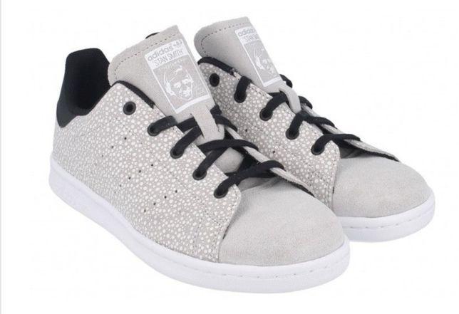 Adidas Stan Smith Grey Two Core Black rozmiar 33