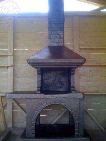 Продам Камин барбекю мангал гриль для беседки печь садовая для дачи