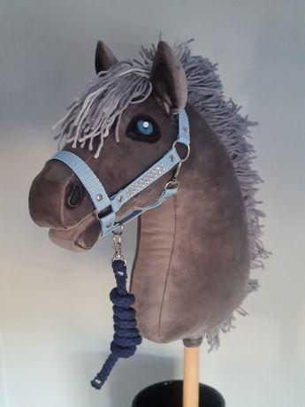 Kantar regulowany z uwiązem Hobby  horse RÓŻNE KOLORY