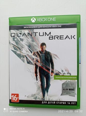 Игра Quantum break для Xbox One.
