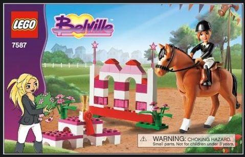 LEGO Belville 7587 Skoki przez przeszkody, duże klocki