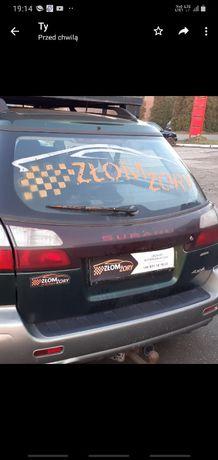 hak holowniczy Subaru Legacy