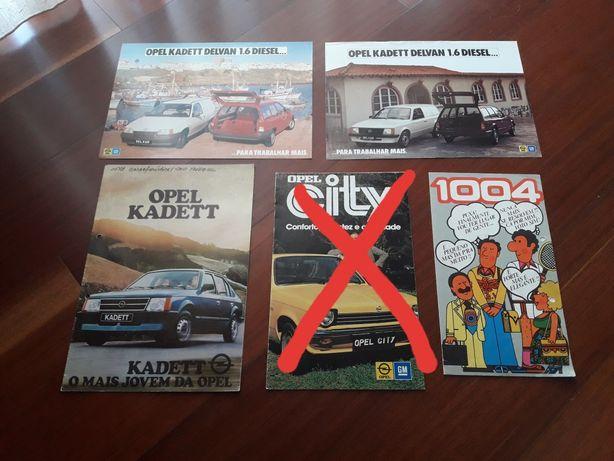 Opel Kadett - Catálogos