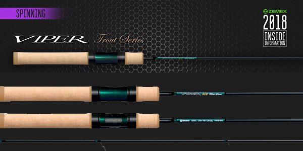 Zemex VIPER Trout Series 662XUL  Форелевый / Длина 1,98 м / Тест 1-6 г