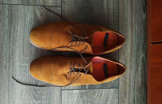 VAGABOND Актуальные замшевые туфли