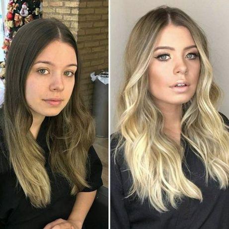 Окрашивание  волос Киев Стрижка в подарок