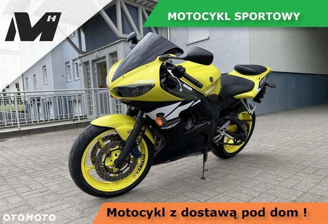Yamaha R6 R6 RJ05 YZF 600cm3 120KM, nowe opony, DOSTAWA POD DOM