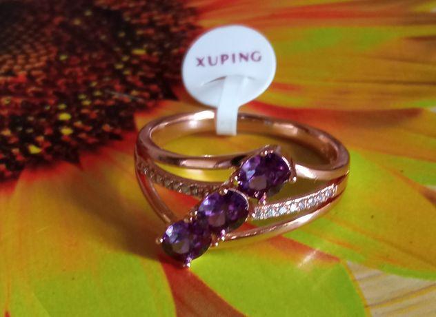 Кольцо, мед золото,позолота 585 пробы