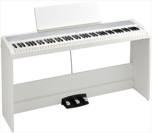 KORG B2 WH SP pianino cyfrowe klawiatura 88 komplet ze statywem