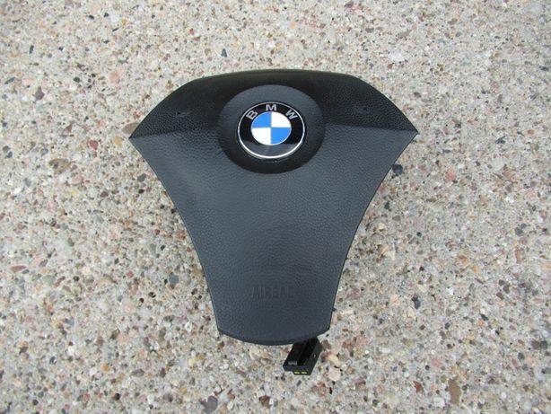 BMW E60 E61 poduszka airbag kierowcy -CZARNA-