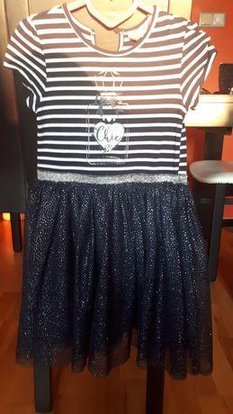 Young dimension piękna sukienka tiul roz 116
