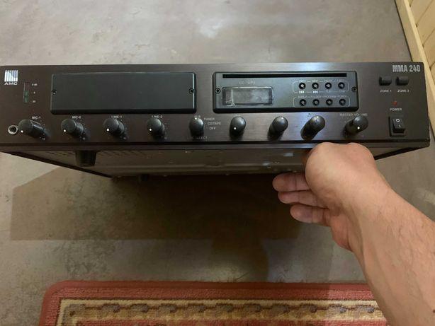 Микширующий усилитель АМСMMA240-трансляция речи,музыки+подарок МР3-ROM