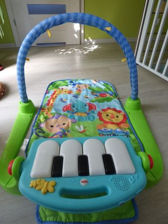 Mata edukacyjna z pianinkiem Fisher Price