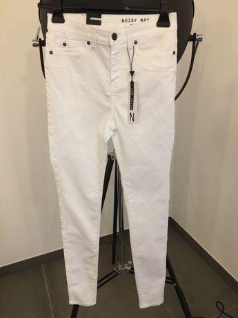 Białe spodnie Noisy May 29/''32