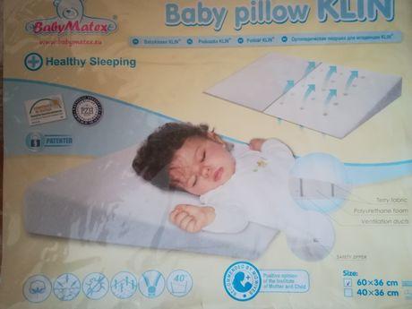 Poduszka klin dla niemowlęcia