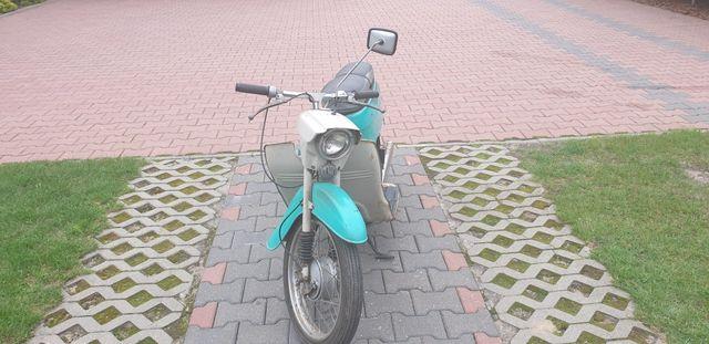 Motorower Jawa 20 w oryginale