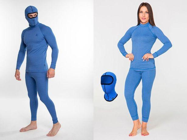 Комплект термобелья Rough Radical Madman/Cute синее женское мужское