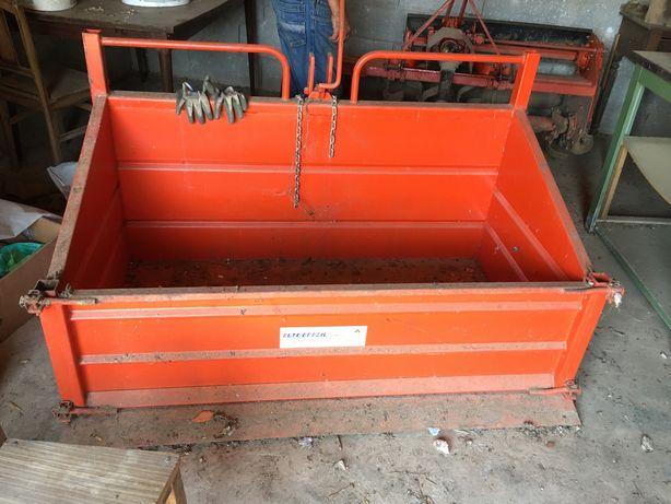 Caixa metalica para trator