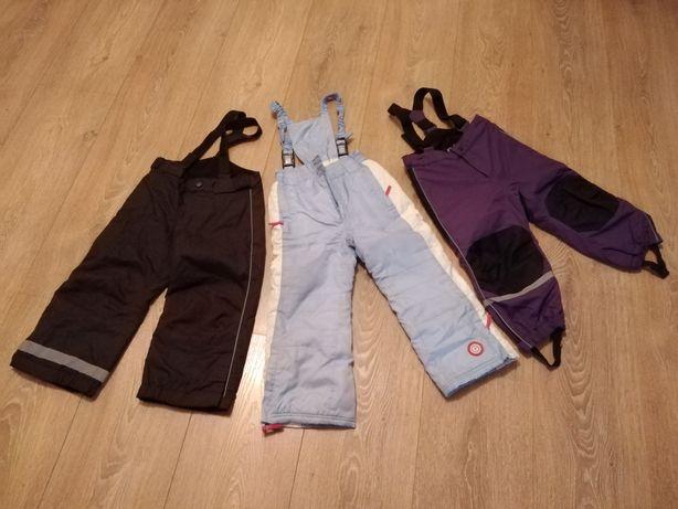 Spodnie narciarskie roz. 98/104/110 H&M