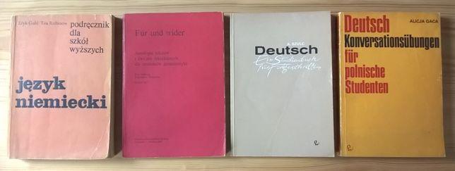 Język niemiecki dla szkół wyższych - 4 książki - cena za cały zestaw