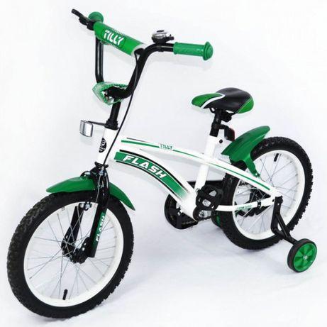 "Велосипед Tilly Flash 16"" Green"