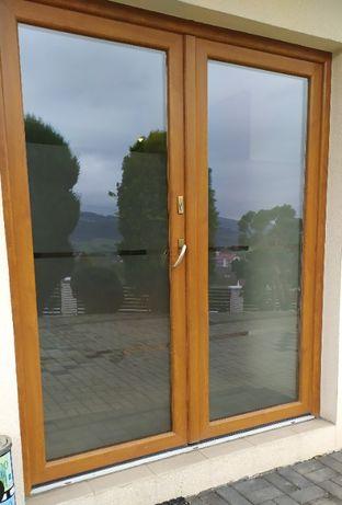 Drzwi plastikowe 180 x 210 firmy Oknoplast