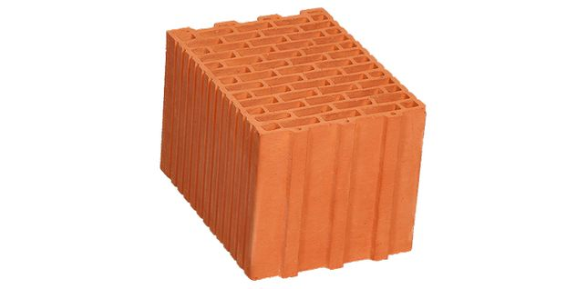 cegła ceramiczna 25 pustak termoton