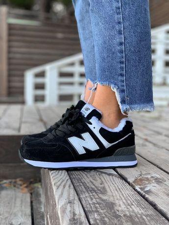 Кроссовки женские ЗИМА!!!Натуральный замш!!!New Balance Ботинки Сапоги