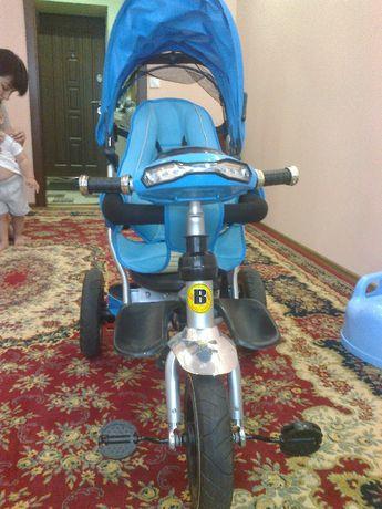 Продам Детский трехколесный велосипед коляска Baby trike CT-90 ( Blue
