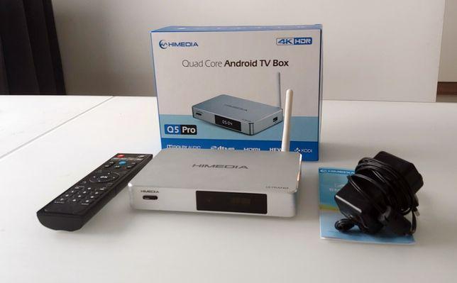 HiMedia Q5 Pro - Smart Box, odtwarzacz sieciowy, 4K, Atmos, UHD, HDR