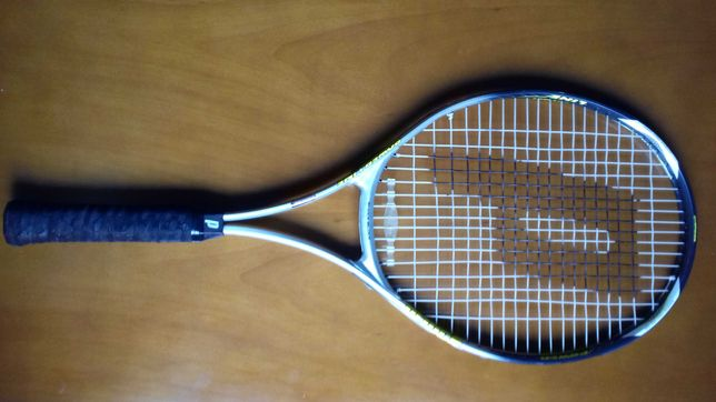 raquetes ténis Prince e Dunlop