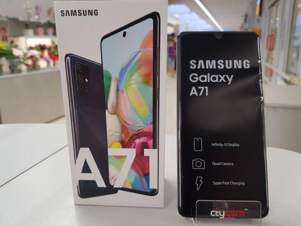 Nowy Samsung A71 - Prism Crush Black