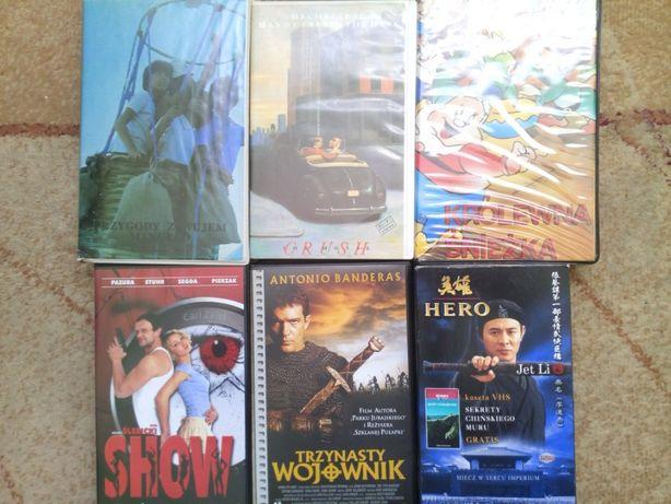 kasety vhs z filmami obniżka ceny