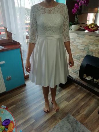 Sukienka ślubna r. 40