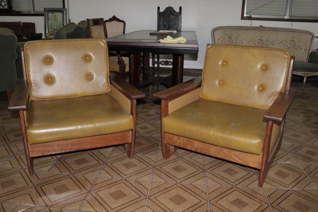 Ternos de sofás Vintage