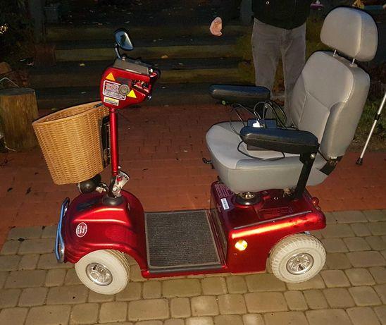 Wózek inwalidzki akumulatorowy