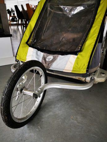 Wózek do biegania, przyczepka rowerowa chariot thule cougar 2